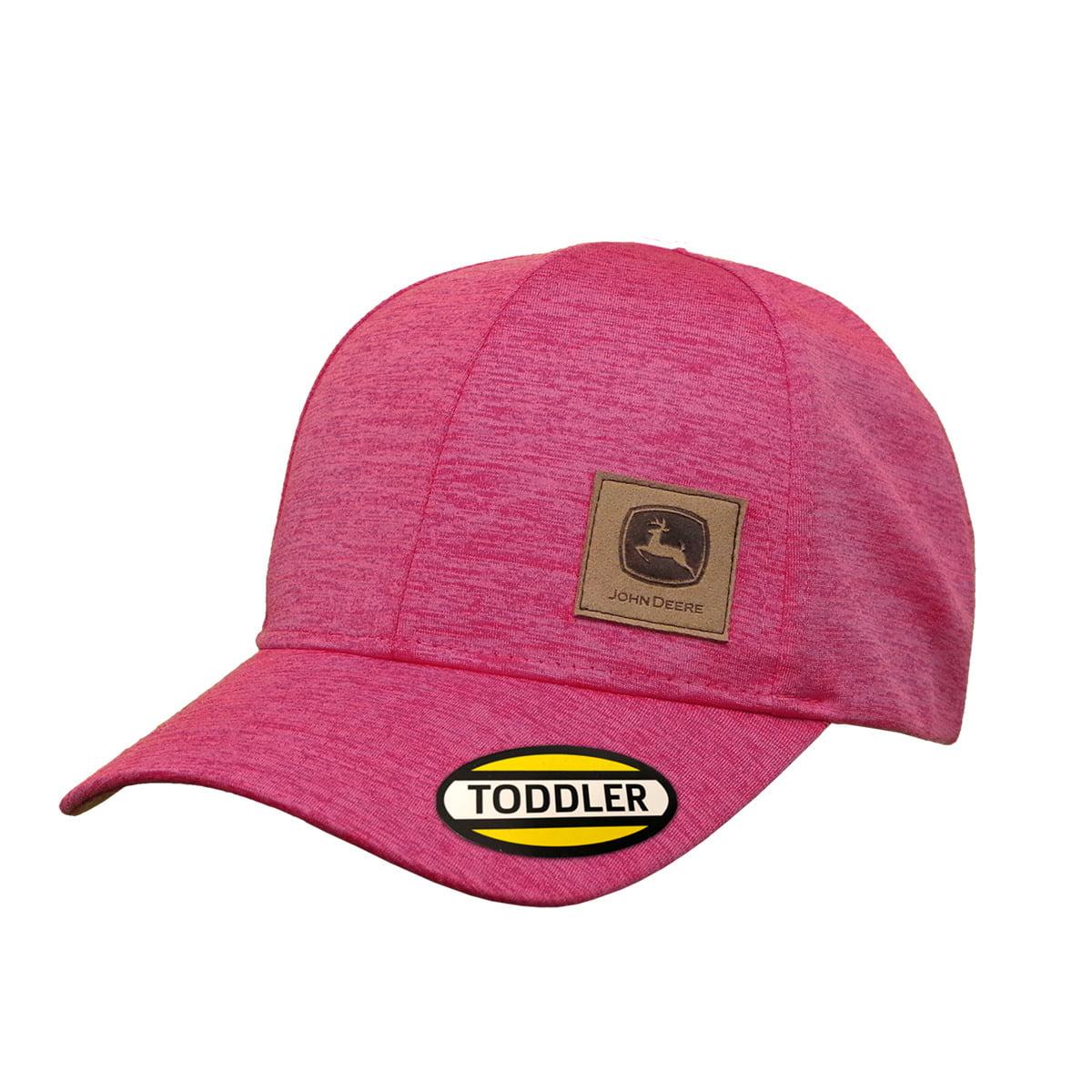 One Size Fits All, Pink  John Deere Cap