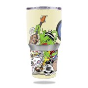 MightySkins Protective Vinyl Skin Decal for Ozark Trail 30 oz Tumbler wrap cover sticker skins Scooter Punk