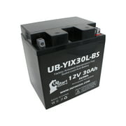UB-YIX30L-BS Battery Replacement for 2008 Polaris Sportsman, Military 700 CC ATV - Factory Activated, Maintenance Free, Motorcycle Battery - 12V, 30AH, UpStart Battery Brand