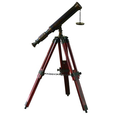 Brass Wood Telescope A Unique Nautical Decor