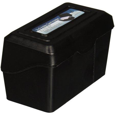 "Advantus Index Card Holders, 3""x5"", Black (avt-45001)"