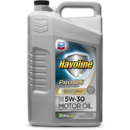 Havoline Prods Synthetic Motor Oil 5w30
