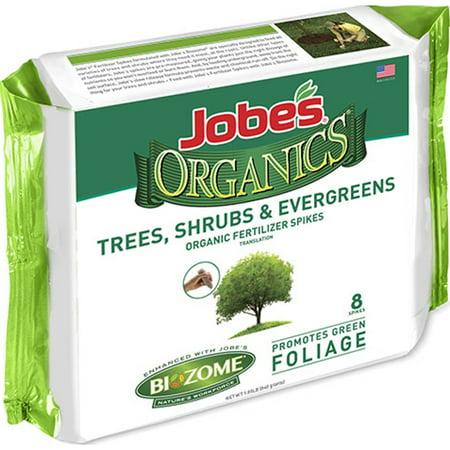 Jobes Organic 8ct. Tree, Shrub, and Evergreen Spike