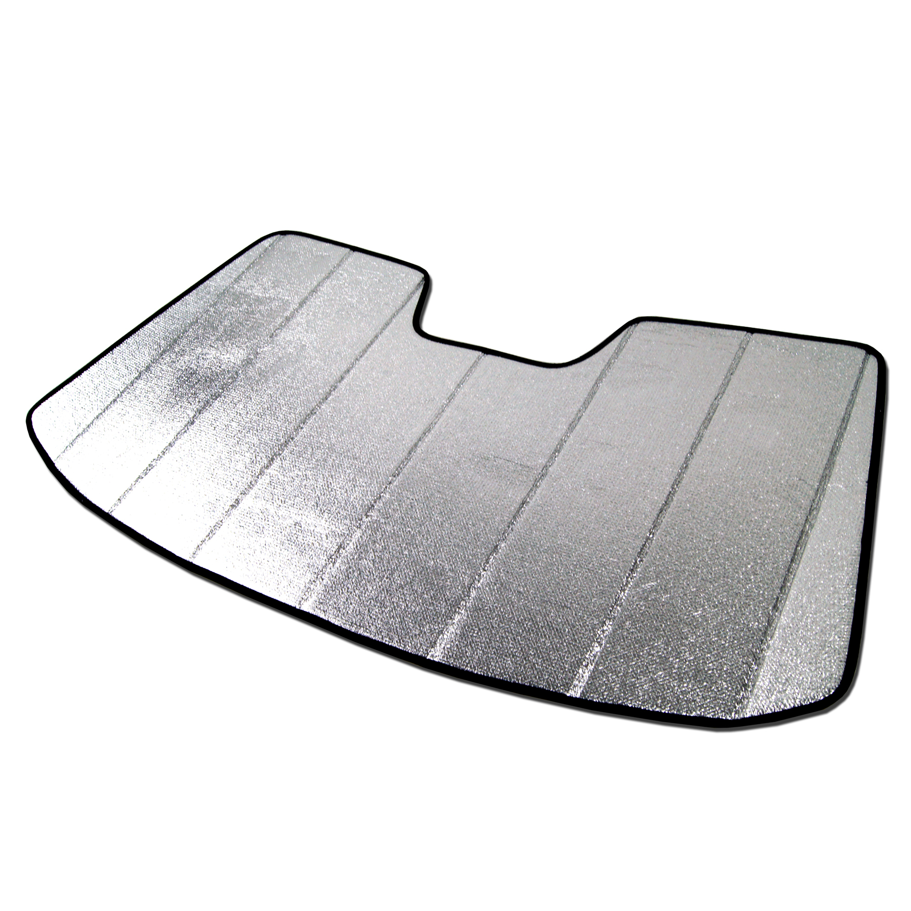 Tuningpros SS-002 Custom Fit Silver And Grey Windshield