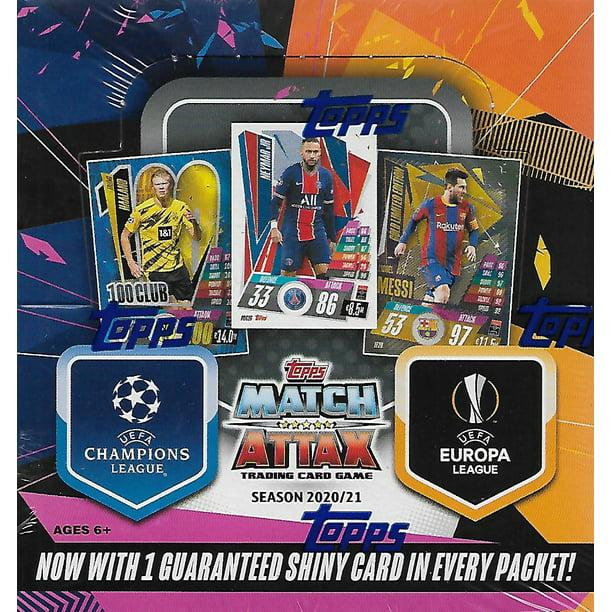 2020 2021 Topps Soccer UEFA Champions League Match Attax ...