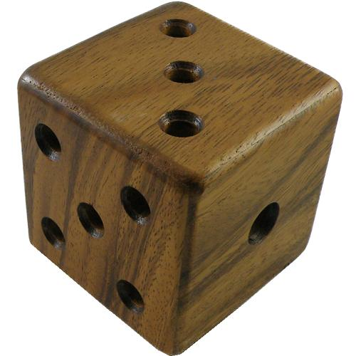 Spin To Win Wooden Puzzle Brain Teaser