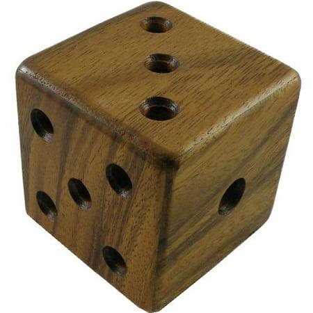 Magic Dice - Wooden Brain Teaser