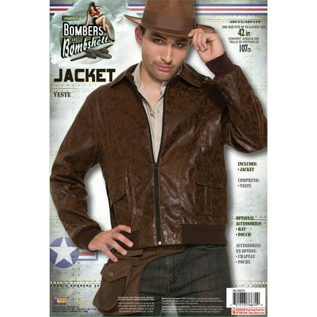 Halloween 1940's Men's Bomber Jacket](1940's Halloween Costume Ideas)