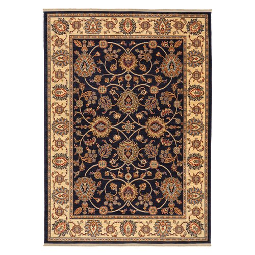 Karastan English Manor Oxford Wool Ivory Brown Area Rug by Mohwak Home
