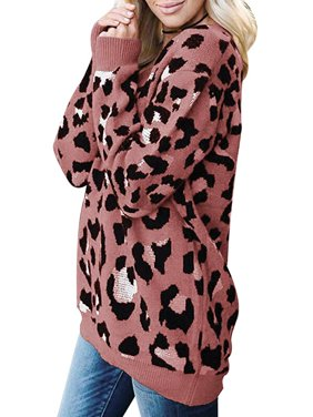 DYMADE Women's Animal Print Sweaters