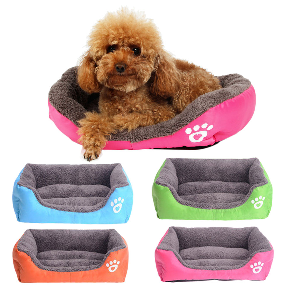 Portable Practical Easy to use Pet Dog Cat Bed Puppy Cushion House Pet Soft Warm Kennel Dog Mat Blanket