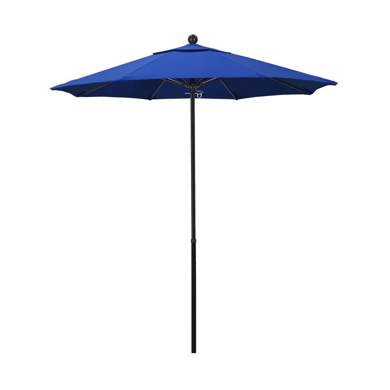California Umbrella Oceanside Series Patio Market Umbrella in Olefin with Black Fiberglass... by California Umbrella