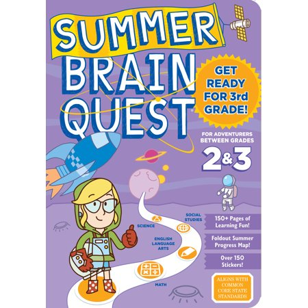 Summer Brain Quest: Between Grades 2 & 3 - Paperback](Halloween Centers Grade 3)