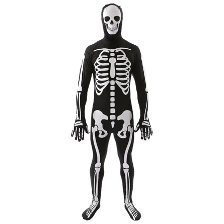 Skeleton Skin Suit (Classic Skeleton Adult Costume Skin)