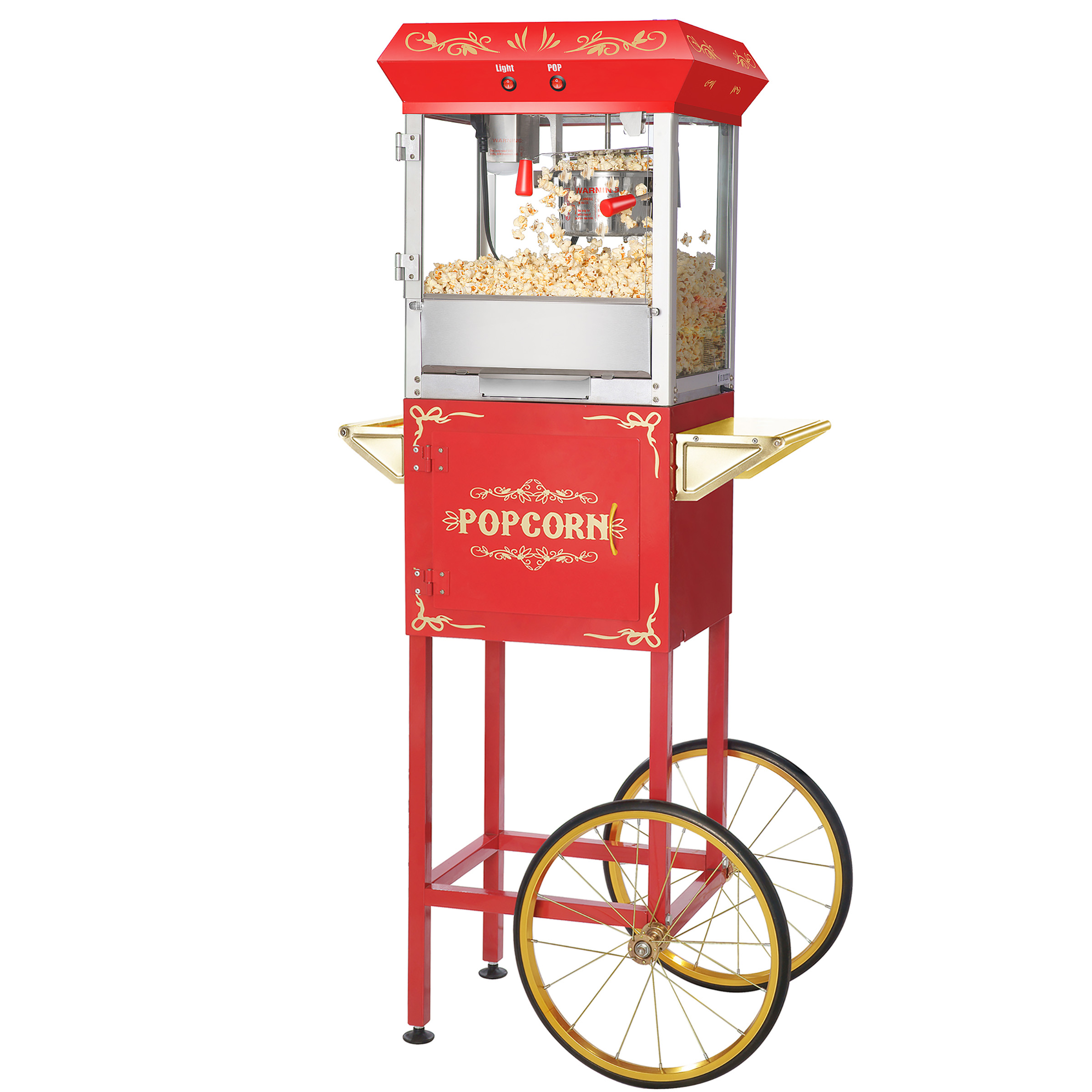 Foundation Popcorn Popper Machine Cart, 6 Ounce by Great Northern Popcorn
