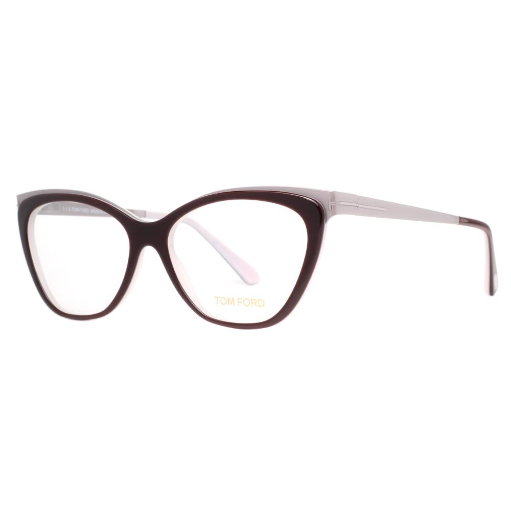 tom ford tf 5374 050 54mm brown palladium cat eye