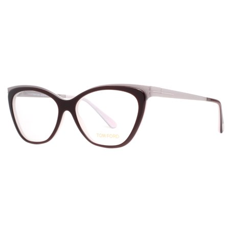 Tom Ford TF 5374 050 54mm Dark Brown/Palladium Cat-Eye