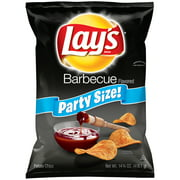 Lay's Barbecue Flavored Potato Chips, Party Size, 14.75 oz. Bag