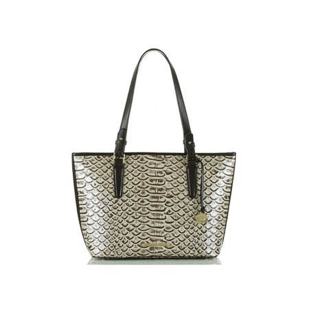 Brahmin Medium Asher Pearl Dogwood Shoulder,tote Leather Bag New Faux Leather Medium Tote Bag