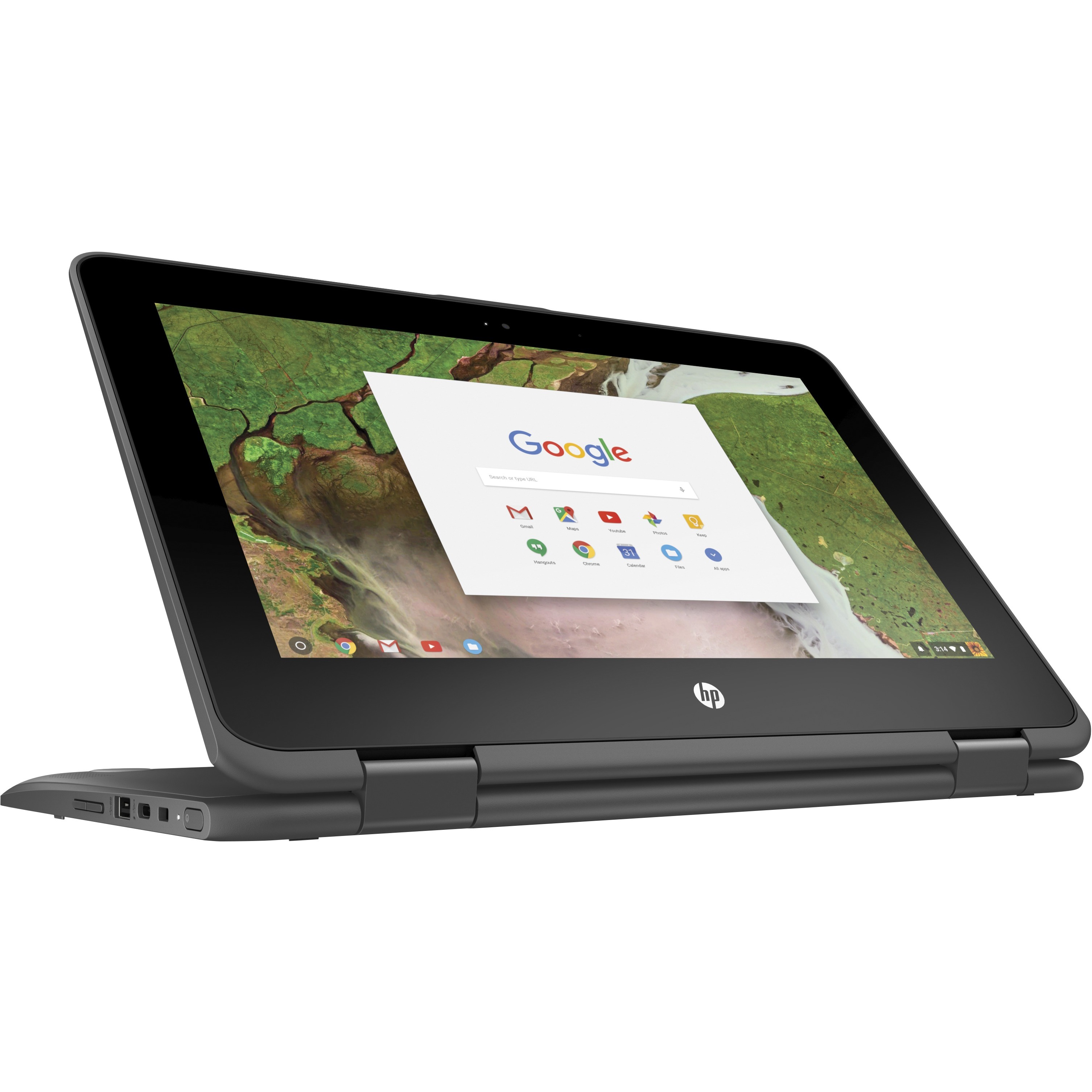 "HP 11.6"" 32GB Multi-Touch 2-in-1 Chromebook x360 11 G1 2DQ88UT#ABA"