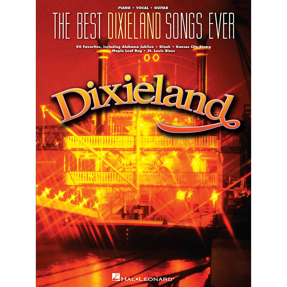 Hal Leonard The Best Dixieland Songs Ever For Piano/Vocal/Guitar