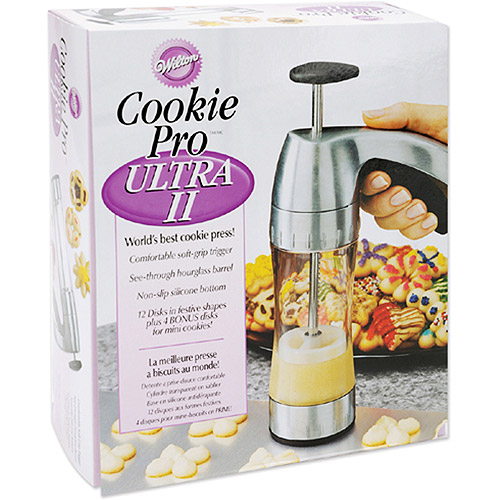 Wilton Cookie Pro Ultra II Deluxe Cookie Press (Pack of 3)