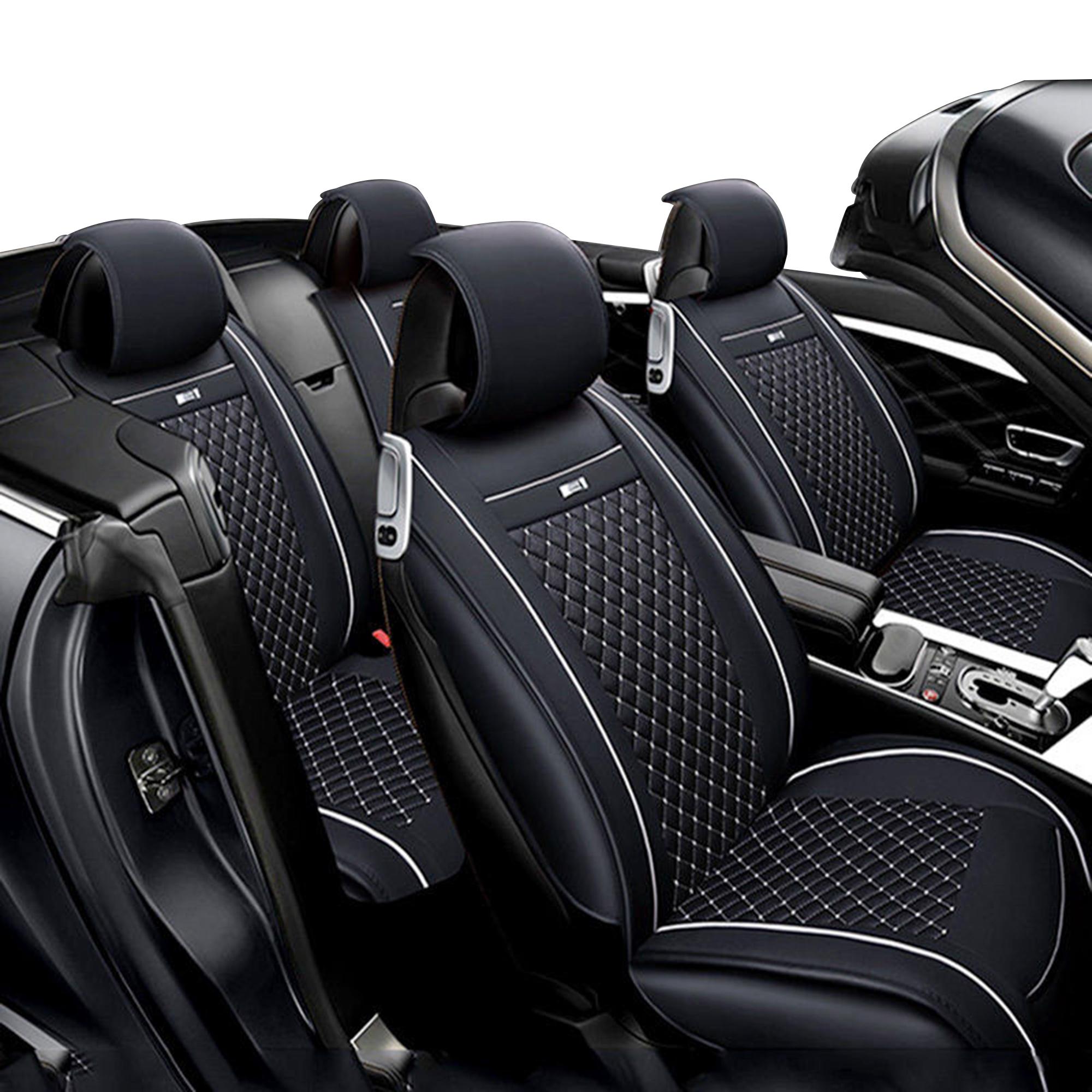 Tinton Life Pu Leather Full Set Universal Car Seat