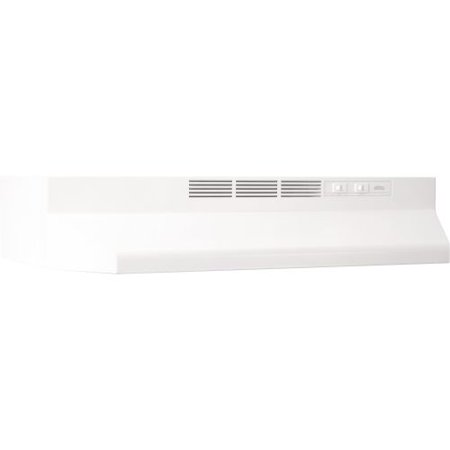 """Broan 4142 42"""" Wide Steel Non Ducted Under Cabinet Range Hood with Charcoal Filt"""
