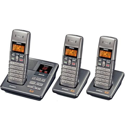 uniden cordless phone w answering machine