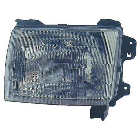 Go-Parts » 2000 - 2001 Nissan Xterra Front Headlight Headlamp Assembly Front Housing / Lens / Cover - Left (Driver) Side 26060-7B425 NI2502121 Replacement For Nissan Xterra (Xterra Headlamp Assembly)
