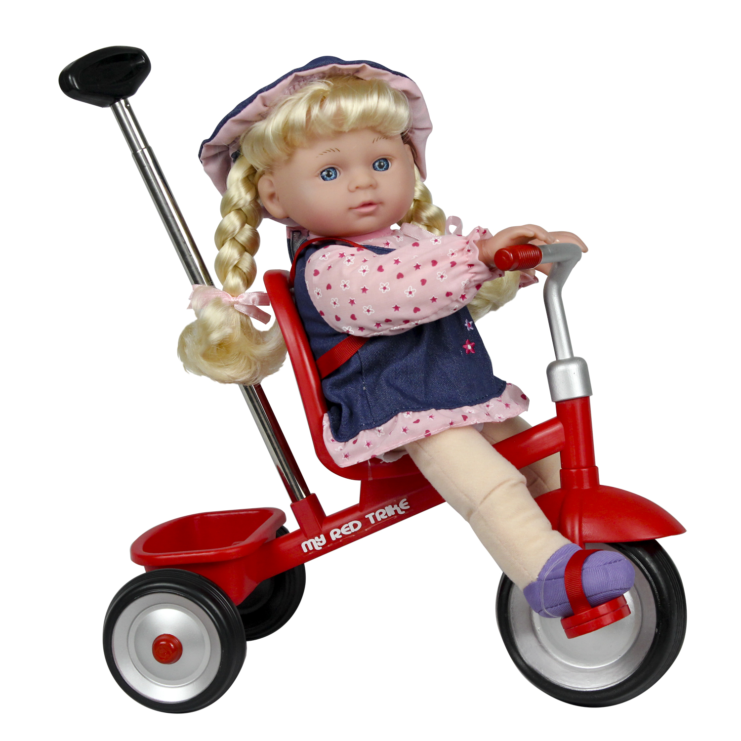 """12"""" Baby Doll With Trike"""