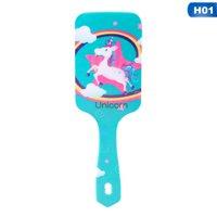 AkoaDa Unicorn Anti-static Hair Brush Massage Comb Shower Wet Detangle Comb