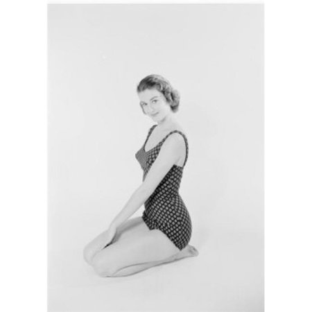 Posterazzi SAL255422282 Studio Portrait of Young Woman in Swimsuit Poster Print - 18 x 24 in. - image 1 of 1
