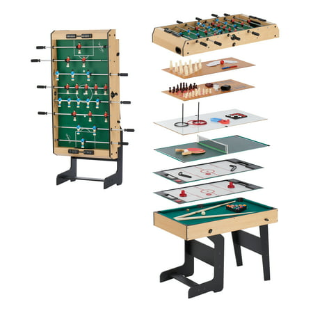 Airzone 16 in 1 Folding Junior Multi Game Table with Accessories ()