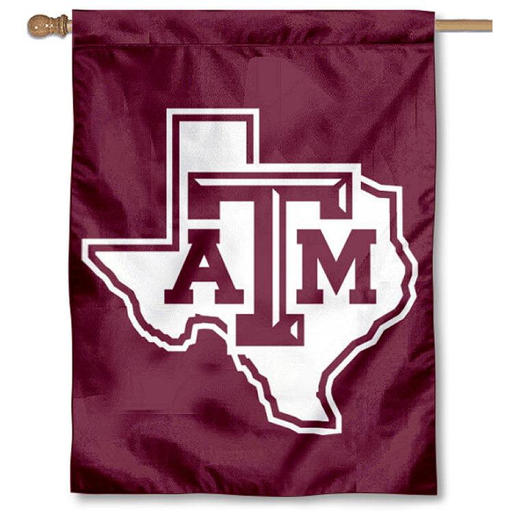 "Texas A&M Aggies 30"" x 40"" Two Sided House Flag"