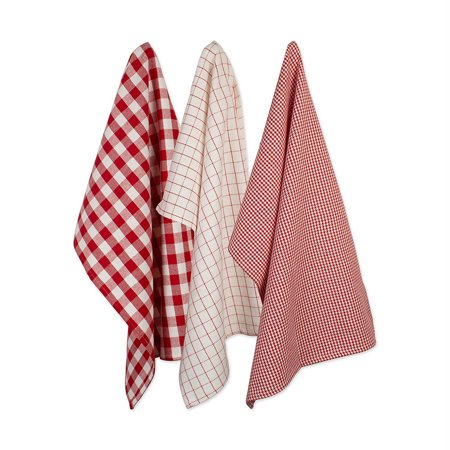 DII Cotton Woven Heavyweight Kitchen Dish Towels 18 x 28