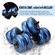 Flexible Fitness Water-filled Dumbbell Heavey Weight Dumbbell Gym Home Exercise Equipment Bodybuilding Training Tool