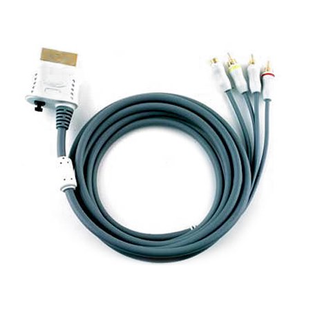 Intec - Video / audio cable - composite video / S-Video / audio / digital audio - 4 pin mini-DIN, RCA (M) to Xbox 360 AV connector (M) - 9.5 ft - for Xbox 360