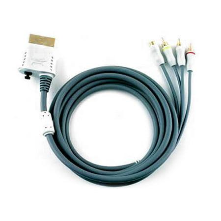 Intec - Video / audio cable - composite video / S-Video / audio / digital audio - 4 pin mini-DIN, RCA (M) to Xbox 360 AV connector (M) - 9.5 ft - for Xbox 360 (Digital Console)