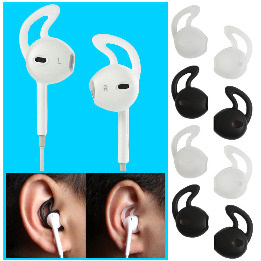 what does it mean when an iphone is locked 4 pairs silicone ear pad cover headphone earphone earbud 21447