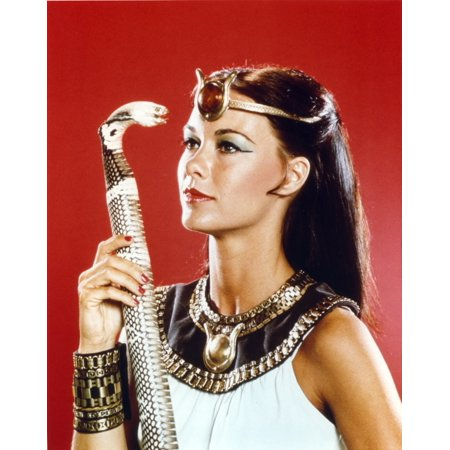 Egyptian Attire (Isis in Egyptian Attire with Snake Cane Photo)
