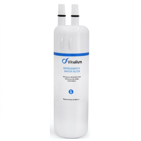 Pack Of 3 Vitalium VF370 Refrigerator Water Filter for Whirlpool and Kenmore