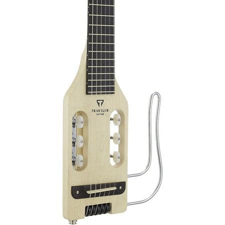Traveler Guitar Ultra-Light Nylon Maple Nylon-Electric Guitar Natural - Guitars At Walmart