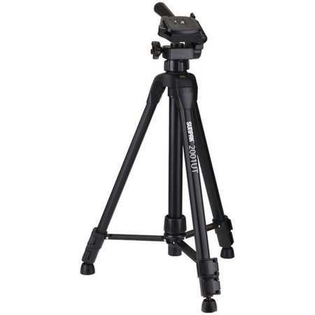 Sunpak® Sunpak® Tr With 3-way Pan Head (folded Height: 18.5u0022; Extended Height: 49u0022; Weight: 2.3lbs)