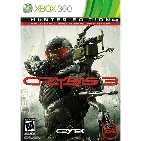 Crysis 3 Hunter Edition  Xbox 360  W  Day 1 Access To New Predator Bow