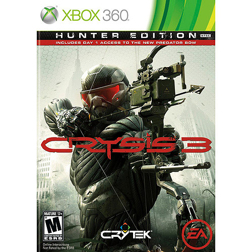 Crysis 3 Hunter Edition (Xbox 360) w/ Day 1 Access to New Predator Bow