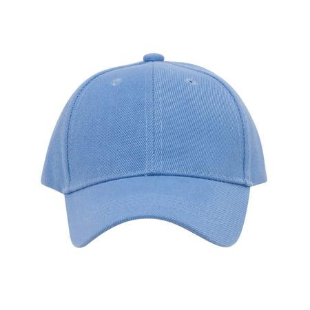 TopHeadwear Blank Youth Baseball Adjustable Hook and Loop Hat - Dark Grey - image 2 de 2