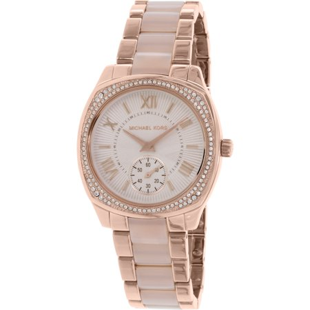 Michael Kors Women's Bryn MK6135 Rose Gold Stainless-Steel Quartz Fashion Watch