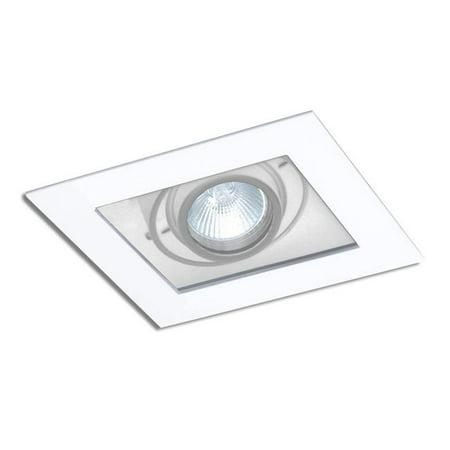 Jesco Lighting Mmggu1050 1aw 1 Light Line Modulinear Directional Recessed Fixture