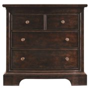 Transitional 4 Drawer Bachelors Chest